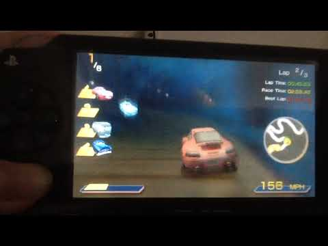 Cars PSP: Crankshaft Mine - Sally (Mirrored)