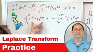 Laplace Transform Practice