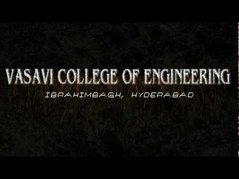 Welcome!!! Discover yourself in an aura of sensibility, technology and d true engineering spirit...#Acumen EEE.   Uploaded by deepak g on Mar 08, 2012   Vasavi College of Engineering