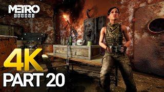 Metro Exodus Gameplay Walkthrough Part 20 - PC 4K 60FPS