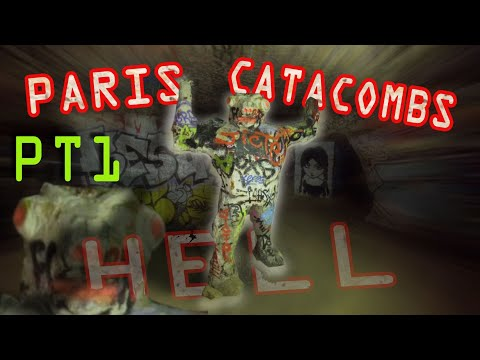 Paris Catacombs 4K Urban Exploration