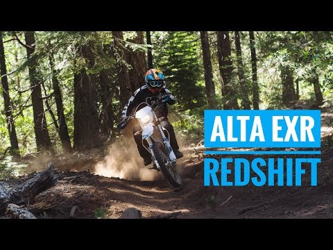 2019 Alta Redshift EXR Review | Street Legal Electric Dirt Bike!