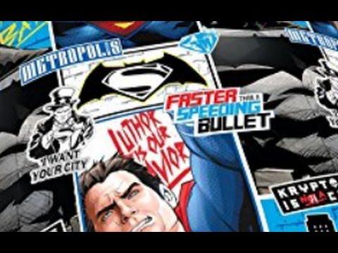 """Let's zeigen #32 - Bettwäsche von """"Batman v Superman"""""""