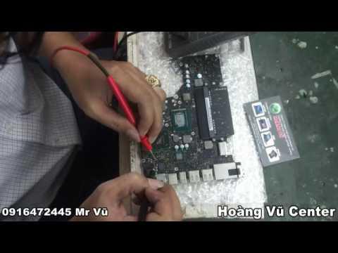 Sửa Macbook Pro bật có nguồn nhưng không lên hinh