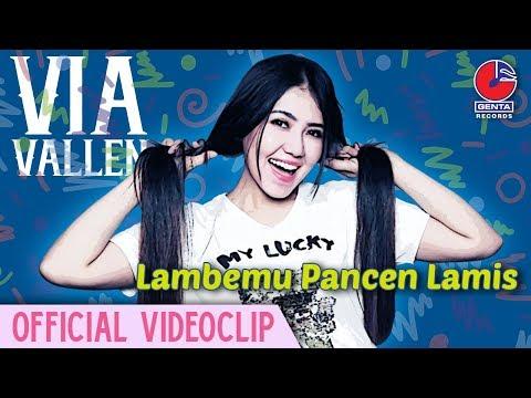 , title : 'Via Vallen - Lambemu Pancen Lamis [Official Video Clip]'