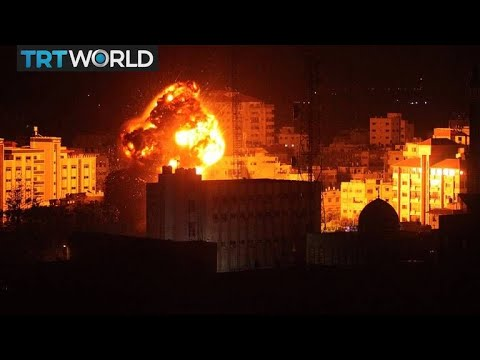 Israel-Palestine Tensions: Israel launches air strikes after rocket attack