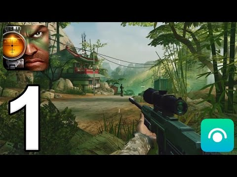 Kill Shot Bravo - Gameplay Walkthrough Part 1 - Region 1 (iOS, Android)