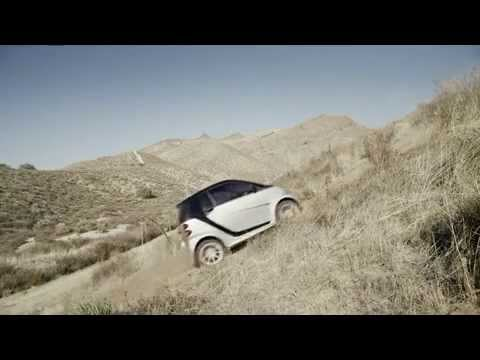 Funny Video : Smart Car Goes 4 Wheeling!!!