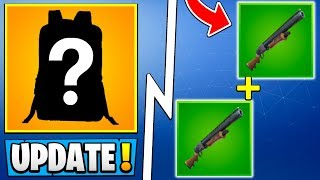 *HUGE* Fortnite 5.3 Update! | Secret New Item, Double Pump, Road Trip Skin!