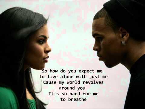 Jordin Sparks Feat. Chris Brown - No Air Lyrics HQ