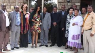 NEW Teddy Afro Sings At His Wedding With Amleset 2012   Yemushiraye Enat