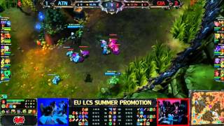 Giants vs Team Alternate Game 4/5 LCS 2013 EU Summer Promotion Matches