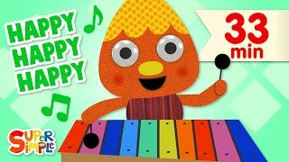 My Happy Song | + More Kids Songs | Super Simple Songs