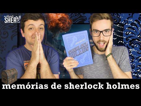 MEMÓRIAS DE SHERLOCK HOLMES: EVOLUÇÃO DOS CONTOS & SOBRE PÓLVORA E GRAFIA | #InvestigandoSherlock