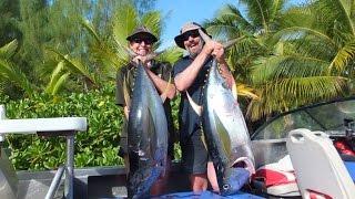 Tuna Fishing, Aitutaki, September 2015