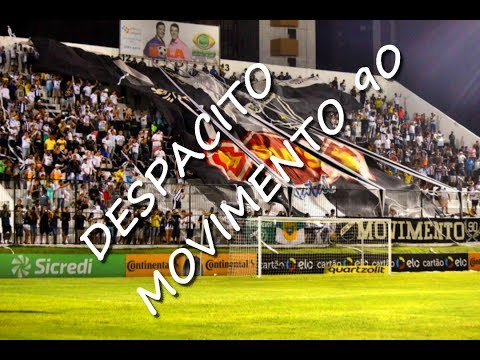 """Despacito Alvinegro"" Barra: Movimento 90 • Club: ABC"