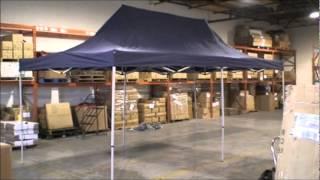 Outdoor Escapes 10x20 EZ-UP Party Tent Set-Up