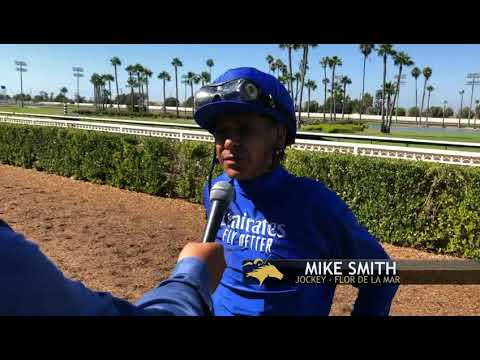 Mike Smith And Flor De La Mar In A Great Ride In The