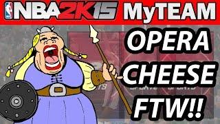 NBA 2K15 My Team Pack Opening - OPERA MUSIC CHEESE!! | ALL STAR PACKS
