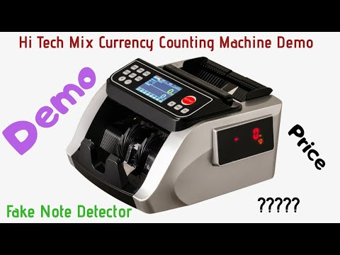SAGA 204 Currency Counting Machine, Money Counting Machine
