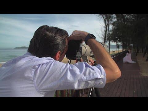Sesso sulla telecamera nascosta spiaggia per nudisti