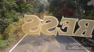 preview picture of video 'Agumbe - You beauty (First ever video of complete 13 hair pin curve road exploring )'