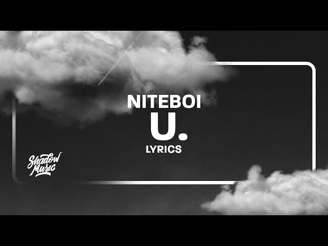 NEU: U von Niteboi ((jetzt ansehen))