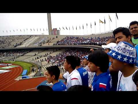 """""""La Sangre Azul en C.U - La Historia De Esta Banda"""" Barra: La Sangre Azul • Club: Cruz Azul"""