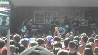 Chunk, No Captain Chunk! - I Am Nothing Like You (Live) Warped Tour Holmdel 7/06/14