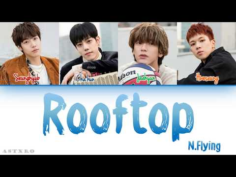 N.FLYING (엔플라잉)- ROOFTOP (옥탑방) LYRICS [HAN-ROM-ENG] COLOR CODED 가사