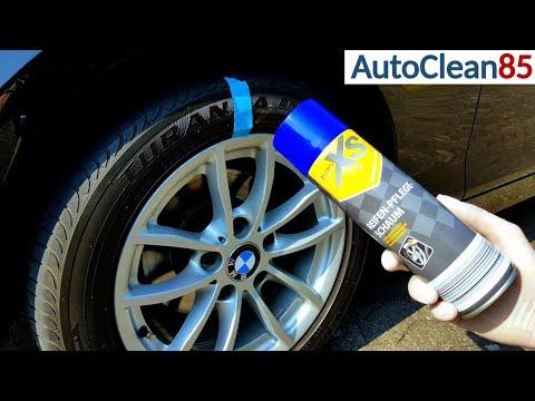 Aldi Auto XS Reifenpflege / Günstige 1,99€ Reifenpflege vom Discounter im Test / Reifen schwärzen