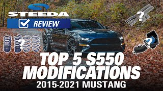Top 5 Mods & Upgrades for the S550 Ford Mustang – Number 1 Will Surprise You!