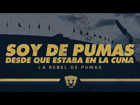 """""""Soy de Pumas desde que estaba en la cuna"""" Barra: La Rebel • Club: Pumas"""