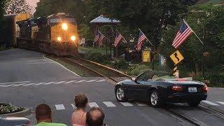What Happens When Railroad Crossing Gates Malfunction?!   Etc.