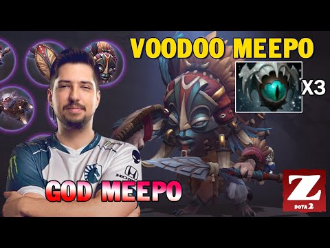 W33 GOD MEEPO Comback With Magic MEEPO Voodoo MEEPO - x3 EYE OF SKADI GAME DOTA 2