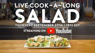 Salads | Basics with Babish Live 🔴