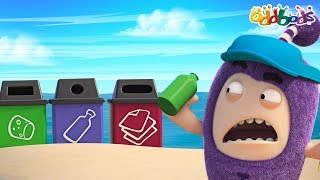 Oddbods | RECYCLE | NEW | Earth Day | Funny Cartoons For Children