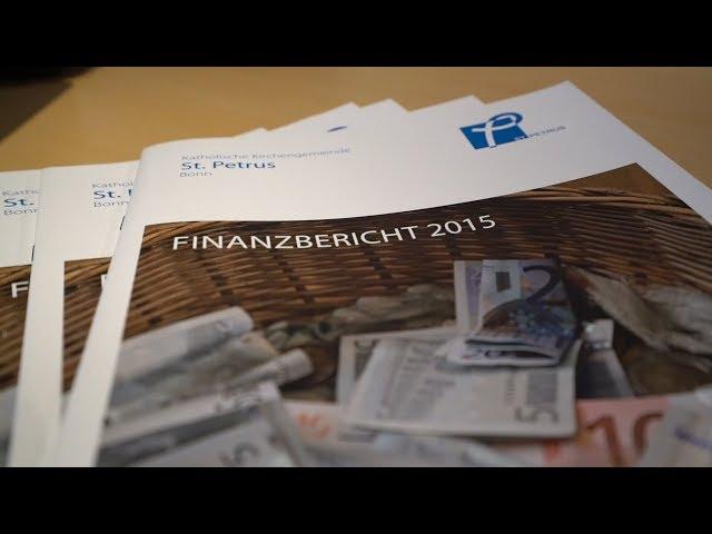 Kirchengemeinden erstellen Finanzberichte
