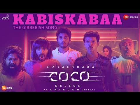 Download Kolamaavu Kokila (CoCo) - Kabiskabaa CoCo - Song Promo Video | Nayanthara | Anirudh Ravichander HD Mp4 3GP Video and MP3