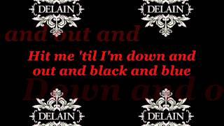Delain - Hit Me With Your Best Shot [Lyrics]