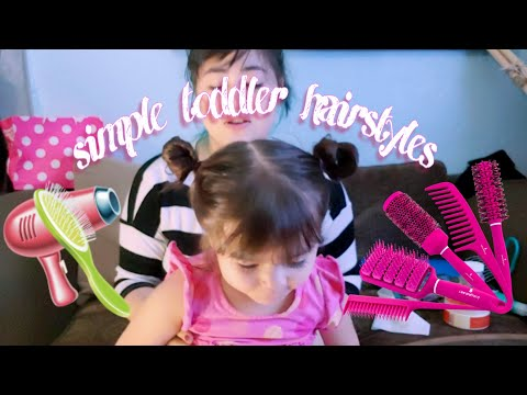 Simple Toddler Hairstyles   part 1