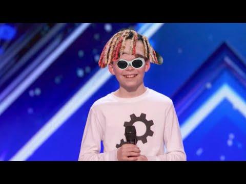 Kid dances to Lil pump on Americas got talent...