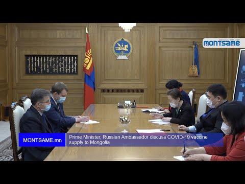 Prime Minister, Russian Ambassador discuss COVID-19 vaccine supply to Mongolia