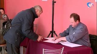 В Великом Новгороде выборы губернатора области проходят спокойно