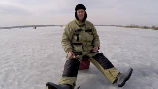 Ловля плотвы зимой на карьерах