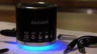 Unboxing Kaidaer KD-MN01r-Kaidaer mini audio box-Kaidaer mini Lautsprecher für Handy-Laptop