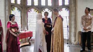 Our Medieval Wedding 29/09/2012