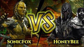 I FOUGHT SONICFOX'S D'VORAH! SonicFox vs HoneyBee!