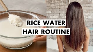 Rice Water for Hair Growth | Healthy Hair Routine
