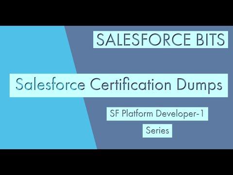 Salesforce Platform Developer Certification 1 Practice Questions ...